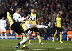 December 6, 2017 - Madrid, Spain - Cristiano Ronaldo of Real Madrid during the UEFA Champions League group H match between Real Madrid and Borussia Dortmund at Santiago Bernabéu. (Credit Image: © Manu_reino/SOPA via ZUMA Wire)