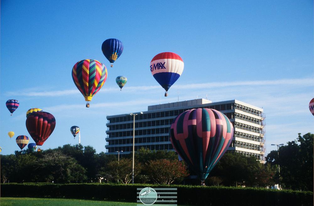 2003 Hot Air Balloons over  NASA
