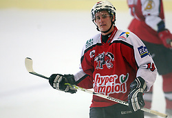 Jaka Augustincic of Briancon at ice hockey match EHC Liwest BW Linz of Austria vs HC DR Briancon of France during Summer league R. Hiti,  on August 29, 2008 in Arena Bled, Bled, Slovenia.  (Photo by Vid Ponikvar / Sportal Images)