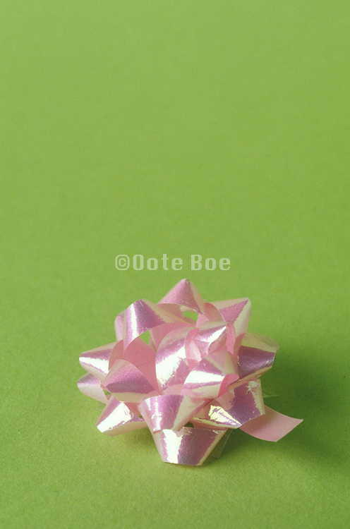 decorative bow for gift wrapping
