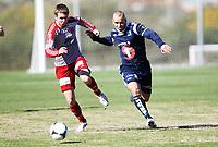 Fotball ,12. mars 2013 privatkamp ,La Manga <br /> Kristiansund - Strømmen 1-2<br /> <br /> Mahmoud El Haj , Kr.sund<br /> Joakim Bjerkås , Strømmen