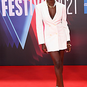 Priscilla Anyabu attended King Richard | BFI London Film Festival 2021, 15 October 2021 Southbank Centre, Royal Festival Hall, London, UK.