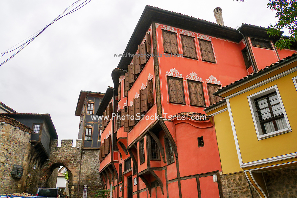 Exterior of the Renovated Nedkovich house, (History Museum) Plovdiv, Bulgaria