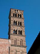 Basilica Dei Santi Cosma e Damiano, Rome, Italy.