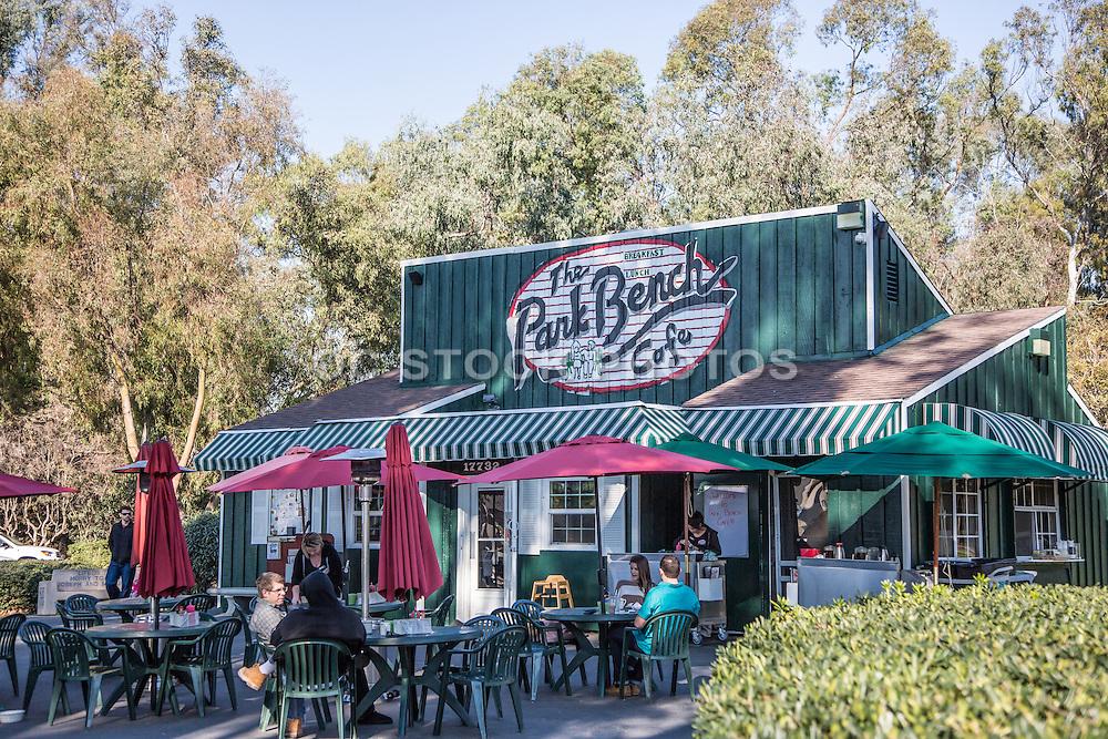 The Park Bench Cafe in Huntington Beach Central Park