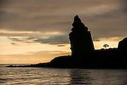 Pinnacle Rock<br /> Bartolome Island<br /> Galapagos<br /> Ecuador, South America