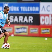 Besiktas's new Sidnei Rechel da Silva Júnio during their new season training at BJK Nevzat Demir training center in Istanbul, Turkey, 30 June 2011. Photo by TURKPIX