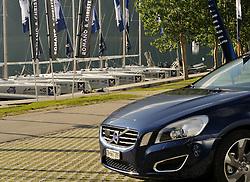 Volvo Cars Switzerland joint sponsor at the St.Moritz Match Race. Photo:Chris Davies/WMRT