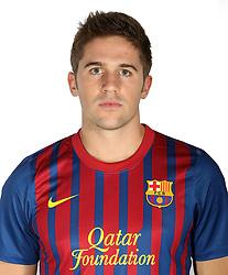 24.08.2011, Barcelona, ESP, FC Barcelona Fotocall, im Bild Portrait von Andreu Fontas, EXPA Pictures © 2011, PhotoCredit: EXPA/ Alterphotos/ ALFAQUI/ Gregorio