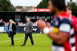 Bristol Rugby Chief Operating Officer Mark Tainton and Chairman Chris Booy - Rogan/JMP - 28/10/2017 - RUGBY UNION - Stade Santander International - St Peter, Jersey - Jersey Reds v Bristol Rugby - Greene King IPA Championship.