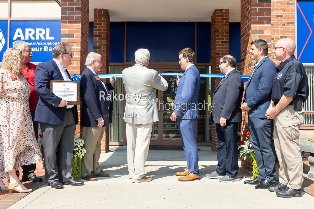 The Rededication and Reopening of the headquarters of the American Radio Relay League (ARRL) in Newington, CT.