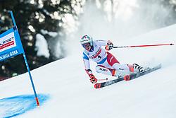 Michelle Gisin (SUI) during Ladies' Giant Slalom at 57th Golden Fox event at Audi FIS Ski World Cup 2020/21, on January 17, 2021 in Podkoren, Kranjska Gora, Slovenia. Photo by Vid Ponikvar / Sportida
