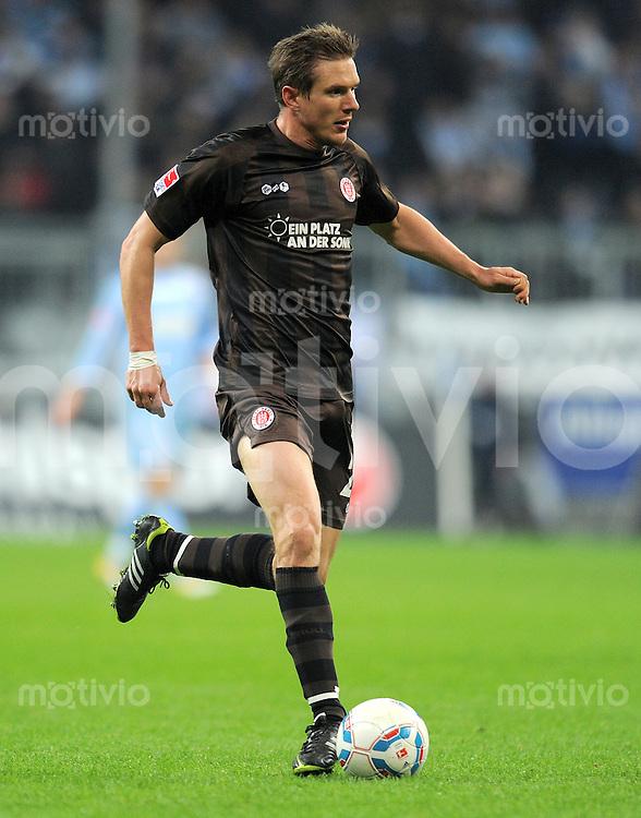 Fussball 2. Bundesliga:  Saison   2011/2012,    24. Spieltag  TSV 1860 Muenchen - FC St. Pauli  05.03.2012 Carsten Rothenbach (FC St. Pauli)