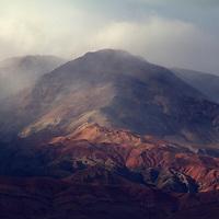 Africa, Morocco, Skoura. Landscape of Draa Valley