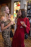 GRETA BELLAMACINA; HIKARI YOKOYAMA, Charles Finch, Efe Cakarel & Hikari Yokoyama celebrate  Mubi with Doug Aitken.  Maison Assouline. Piccadilly. London. 25 June 2015