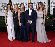 SYLVESTER STALLONE + family @ the 73rd Annual Golden Globe awards held @ the Beverly Hilton hotel.<br /> ©Exclusivepix Media
