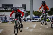 Cruiser - 13 & 14 Men #63 (ROBLES Flavio) FRA at the 2018 UCI BMX World Championships in Baku, Azerbaijan.