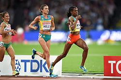 Almaz Ayana of Ethiopia races clear to win gold - Mandatory byline: Patrick Khachfe/JMP - 07966 386802 - 05/08/2017 - ATHLETICS - London Stadium - London, England - Women's 10,000m Final - IAAF World Championships