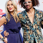 NLD/Amsterdam/20131109 - Pressconference MTV EMA 2013, Laura Whitmore and Redfoo, Stefan Kendal Gordy