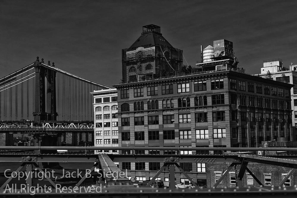 Dumbo As Seen From the Brooklyn Bridge
