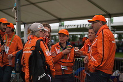Netherlands team of grooms<br /> Endurance - Alltech FEI World Equestrian Games™ 2014 - Normandy, France.<br /> © Hippo Foto Team - Jantien Van Zon