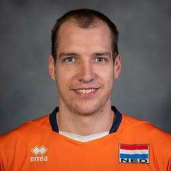 21-05-2019 NED: Team shoot Dutch volleyball team men, Arnhem<br /> Wouter Ter Maat #16 of Netherlands