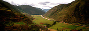 PERU, HIGHLANDS Urubamba River; Sacred Inca Valley