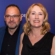 NLD/Amsterdam/20190322  - Boekenbal 2019, Simone van der Vlugt en partner Wim van der Vlugt