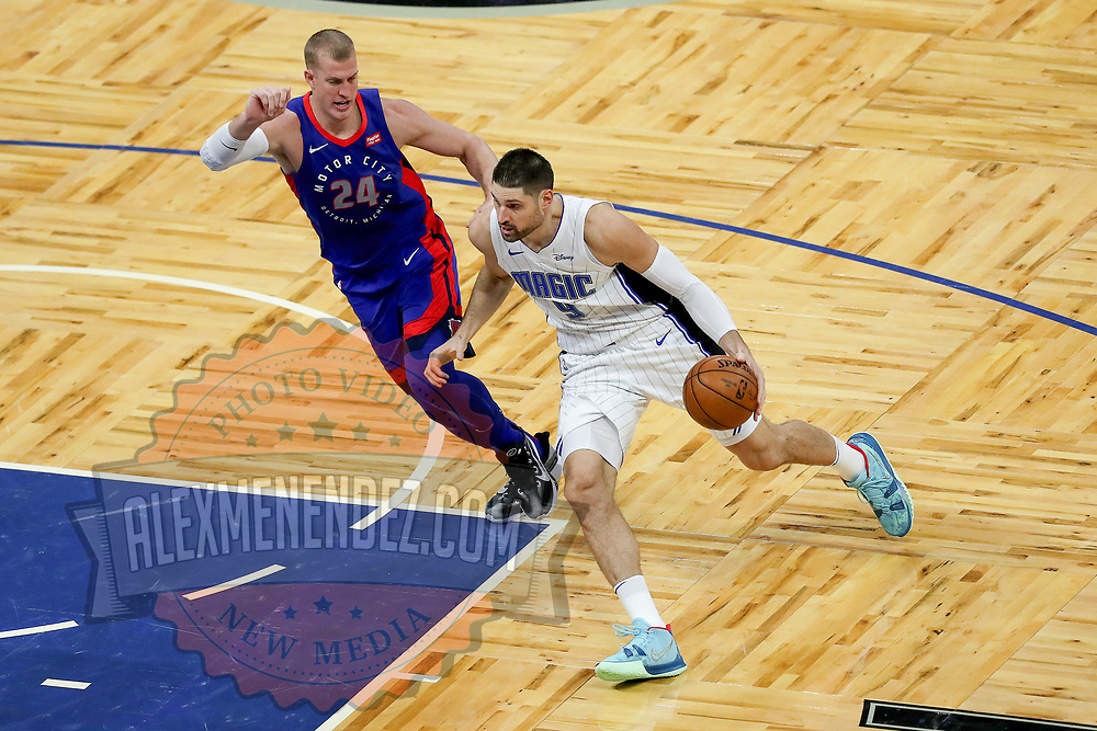 ORLANDO, FL - FEBRUARY 23:  during the second half at Amway Center on February 23, 2021 in Orlando, Florida. NOTE TO USER: User expressly acknowledges and agrees that, by downloading and or using this photograph, User is consenting to the terms and conditions of the Getty Images License Agreement. (Photo by Alex Menendez/Getty Images)*** Local Caption ***