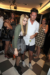 PEACHES GELDOF and PERCY PARKER at the PPQ of Mayfair Summer Party at 47 Conduit Street, London on 30th July 2008.<br /> <br /> NON EXCLUSIVE - WORLD RIGHTS