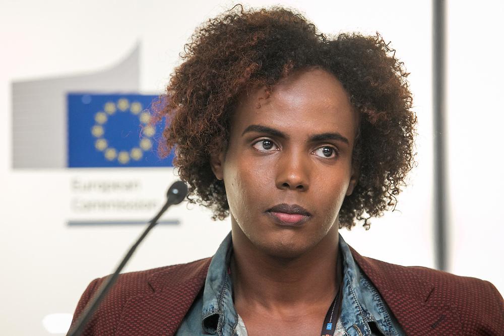 03 June 2015 - Belgium - Brussels - European Development Days - EDD - Migration - Migrants matter for development - New actors and energies in a new development agenda - Farah Abdi Abdullahi ,<br /> Young Refugee © European Union
