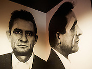 me and Johnny Cash in the men's room at The Republic<br /> PHOTOS/John Nelson
