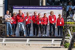 Wientzek Pläge Birgit, SUI, Robinvale<br /> European Championship Dressage<br /> Rotterdam 2019<br /> © Hippo Foto - Dirk Caremans