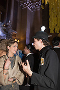 SIANA VERE NICOLL; GUY PEARSON, Ball at to celebrateBlanche Howard's 21st and  George Howard's 30th  birthday. Dress code: Black Tie with a touch of Surrealism. Castle Howard. Yorkshire. 14 November 2015