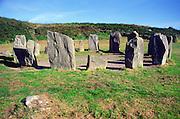 Drombeg prehistoric stone circle henge, County Cork, Ireland