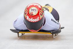 19.02.2016, Olympiaeisbahn Igls, Innsbruck, AUT, FIBT WM, Bob und Skeleton, Damen, Skeleton, 1. Lauf, im Bild Jacqueline Loelling (GER) // Jacqueline Loelling of Germany competes during women Skeleton 1st run of FIBT Bobsleigh and Skeleton World Championships at the Olympiaeisbahn Igls in Innsbruck, Austria on 2016/02/19. EXPA Pictures © 2016, PhotoCredit: EXPA/ Johann Groder