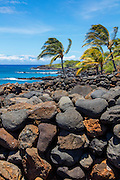 Lapakahi State Park, Heiau and fishing village, The Big Island of Hawaii