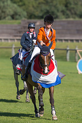 Nooren Lisa (NED) - Rock Dee Jea<br /> European Championship Poneys Fontainebleau 2012<br /> © Dirk Caremans