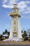 South Pacific, Samoa, Upolu Island Apia clock tower