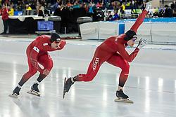 10-12-2016 NED: ISU World Cup Speed Skating, Heerenveen<br /> Team sprint Noorwegen