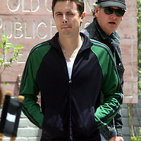 Casey Affleck in and around Boston,Mass. Filming and acting in Gone Baby Gone.. Photo by Mark Garfinkel