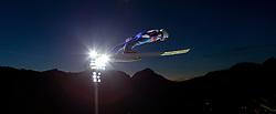 28.12.2015, Schattenbergschanze, Oberstdorf, GER, FIS Weltcup Ski Sprung, Vierschanzentournee, Training, im Bild Manuel Poppinger (AUT) // Manuel Poppinger of Austria// during his Practice Jump for the Four Hills Tournament of FIS Ski Jumping World Cup at the Schattenbergschanze, Oberstdorf, Germany on 2015/12/28. EXPA Pictures © 2015, PhotoCredit: EXPA/ Peter Rinderer