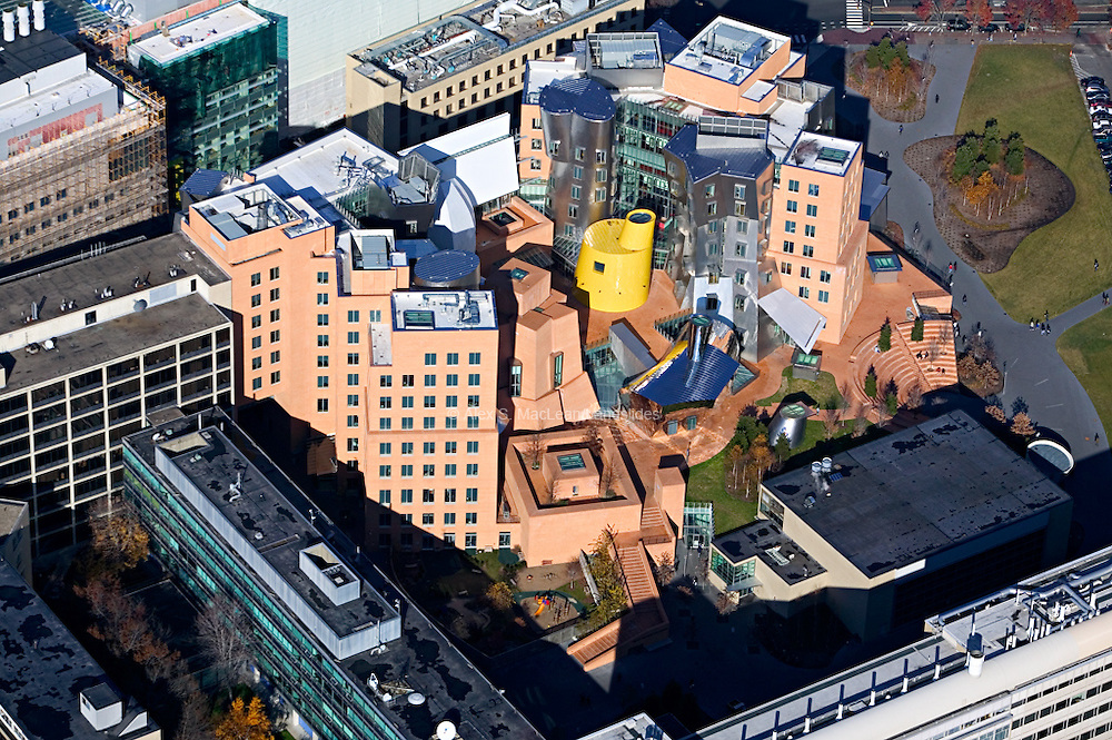 Technology Square / Cambridge / Gehry Building / MIT