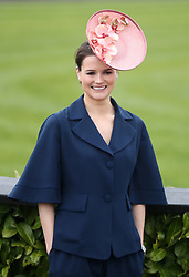Serena Stack during day three of the Punchestown Festival in Naas, Co. Kildare.