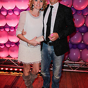 NLD/Amsterdam/20120330 - Emma Raising Fund Night, Jan Willem Bruggenwirth en partner