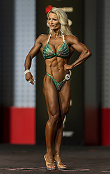 Sept.16, 2016 - Las Vegas, Nevada, U.S. -  KATI ALANDER competes in the Figure Olympia contest during Joe Weider's Olympia Fitness and Performance Weekend.(Credit Image: © Brian Cahn via ZUMA Wire)