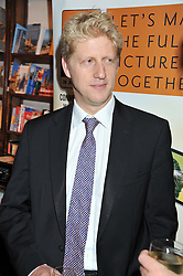 JOSEPH JOHNSON at a party to celebrate the publication of Stanley Johnson's new book 'Where The Wild Things Were' held at Daunt Books, 83 Marylebone High Street, <br /> London W1 on 18th July 2012.
