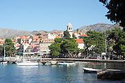 Cavtat, Croatia on the Adriatic Sea coast 15 kilometres (9 miles) south of Dubrovnik