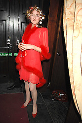 VIOLET NAYLOR-LEYLAND at a pajama party at The Cuckoo Club, Swallow Street, London on 2nd April 2008.<br /><br />NON EXCLUSIVE - WORLD RIGHTS
