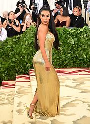 Kim Kardashian West attending the Metropolitan Museum of Art Costume Institute Benefit Gala 2018 in New York, USA.